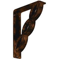 "Loera 2""W x 7.5""D x 10""H Countertop Bracket - Iron/Steel Antiqued Bronze"