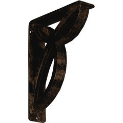 "Versailles 2""W x 7.5""D x 10""H Countertop Bracket - Iron/Steel Antiqued Bronze"