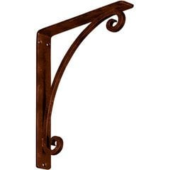 "Legacy 1.5""W x 10""D x 12""H Countertop Bracket - Iron/Steel Antiqued Copper"