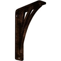 "Nevio 1.5""W x 5.5""D x 8""H Countertop Bracket - Iron/Steel Antiqued Copper"