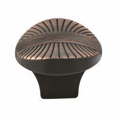 Opus 1-3/8 Inch Diameter Venetian Bronze Cabinet Knob