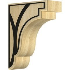 "Bedford 3.5""W x 8.5""D x 11""H Countertop Bracket - Maple"