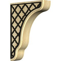 "Plymouth 1.75""W x 7.25""D x 9.5""H Countertop Bracket - Maple"