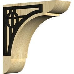 "Olympic 1.75""W x 6""D x 6""H Countertop Bracket - Maple"
