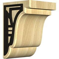 "Bedford 5.25""W x 5""D x 7.5""H Countertop Bracket - Maple"