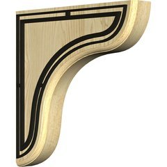 "Eaton 1.75""W x 10.5""D x 10.5""H Countertop Bracket - Maple"