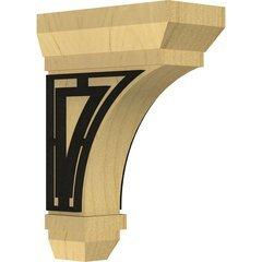 "Stockport 2.25""W x 5""D x 7""H Countertop Bracket - Alder"