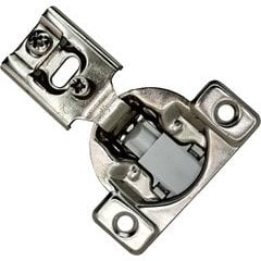 54% OFF Builders Line Compact Hinge - 1/2 inch Overlay Screw-On - Soft-Close - 4 Way 2 Cam Adjustable - Face-Frame