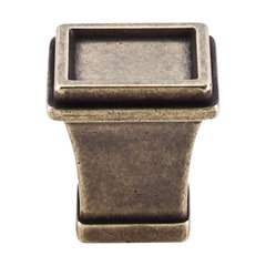 Great Wall 1-1/8 Inch Length German Bronze Cabinet Knob <small>(#TK185GBZ)</small>