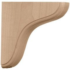 "Eaton 1.75""W x 5.5""D x 5.5""H Countertop Bracket - Red Oak"