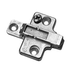 Clip 2 Piece Mounting Plate 0mm