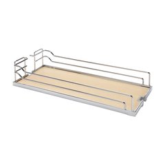 Arena Plus Tray Set (2) 22 inch Wide Chrome/Maple <small>(#546.63.136)</small>