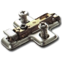 Salice 0MM Mounting Plate with Pre-Mount Euro-Screw