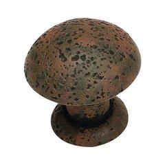 Olde World 1-3/8 Inch Diameter Rust Cabinet Knob <small>(#272-R)</small>