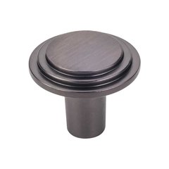 Calloway 1-1/4 Inch Diameter Brushed Oil Rubbed Bronze Cabinet Knob