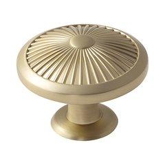 Crawford 1-3/4 Inch Diameter Golden Champagne Cabinet Knob <small>(#BP36616BBZ)</small>