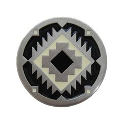 Great Outdoors 1-3/8 Inch Diameter Antique Pewter Cabinet Knob <small>(#NHK-132-AP-C)</small>