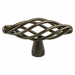 Adagio 2-7/16 Inch Length Oil Rubbed Bronze Cabinet Knob