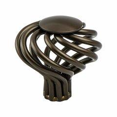 Adagio 1-1/2 Inch Diameter Oil Rubbed Bronze Cabinet Knob
