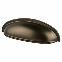 Adagio 3 Inch Center to Center Oil Rubbed Bronze Cabinet Cup Pull