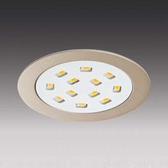 SR68-LED Brushed Aluminum Swivel Spotlight - Warm White <small>(#SR68/WW)</small>