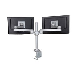 "Dual Monitor Arm 21"" Extension-Clamp Mount"