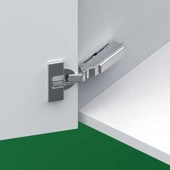 Tiomos 120° Screw On Overlay Hinge - Self Close