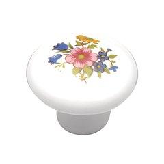 "English Cozy Knob 1-3/8"" Dia Bouquet <small>(#P760-BQ)</small>"