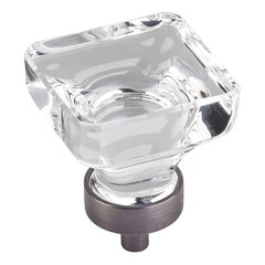 "Harlow Cabinet Knob 1-3/8"" Dia - Brushed Pewter <small>(#G140L-BNBDL)</small>"