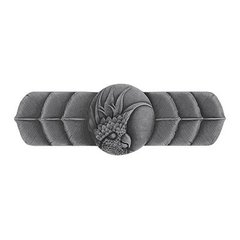 Tropical 3 Inch Center to Center Antique Pewter Cabinet Pull <small>(#NHP-326-AP-L)</small>