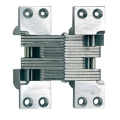 #420 Fire Rated Invisible Hinge Satin Chrome