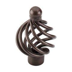 Normandy 1-1/4 Inch Diameter Oil Rubbed Bronze Cabinet Knob <small>(#M778)</small>