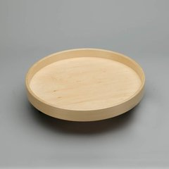 "Full Circle Single Shelf 20"" Diameter - Wood <small>(#LD-4BW-001-20SB-1)</small>"