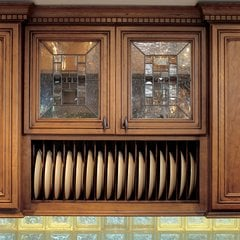 Plate Display Rack 30 inch Maple