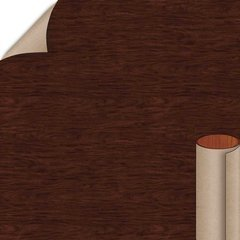 Figured Mahogany Matte Finish 4 ft. x 8 ft. Peel/Stick Vertical Grade Laminate Sheet