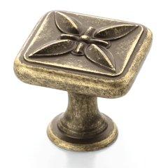Sundara 1-1/8 Inch Diameter Weathered Brass Cabinet Knob