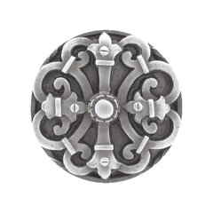 Olde Worlde 1-5/8 Inch Diameter Antique Pewter Cabinet Knob