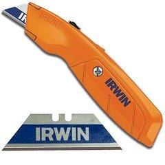 Irwin Hi-Vis Retractable Knife Orange