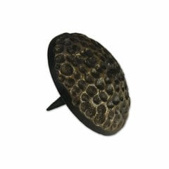 Medium Textured Round Clavo 1-3/8 inch Diameter - Antique Brass <small>(#HCL1606)</small>