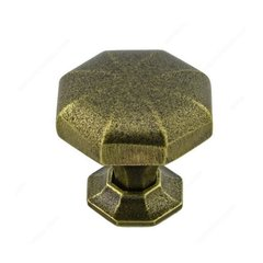 Traditional Cast Iron 1-1/2 Inch Diameter English Bronze Cabinet Knob <small>(#388538132)</small>