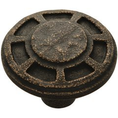 Riverside Knob 1-9/16 inch Diameter Antique Satin Bronze