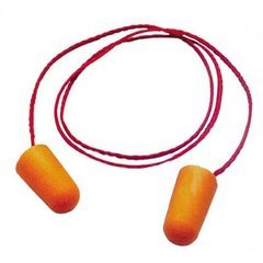 3M Disposable Foam Ear Plugs Orange
