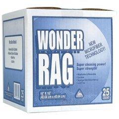 Trimaco Wonder Rags Microfiber Rags-25/Box