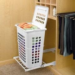 HPRV Pull-Out Hamper With Lid <small>(#HPRV-1925 S)</small>