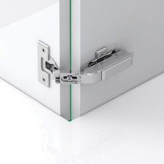 Tiomos PCC Pie Cut Corner Hinge - Self-Close