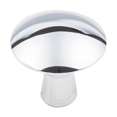 "Zachary Knob 1-1/16"" Dia Polished Chrome <small>(#988PC)</small>"