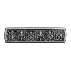 Olde World 3 Inch Center to Center Antique Pewter Cabinet Pull <small>(#NHP-660-AP)</small>