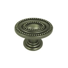 Palermo 1-1/2 Inch Diameter Weathered Nickel Cabinet Knob <small>(#CP80147B-WEN)</small>