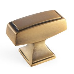 Mulholland 1-1/2 Inch Diameter Gilded Bronze Cabinet Knob <small>(#BP535342GB)</small>