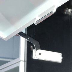Horizontal Bi-Folding Door Mechanism